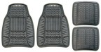 Michelin All Weather Rubber Car Mat 4 Piece set - Black